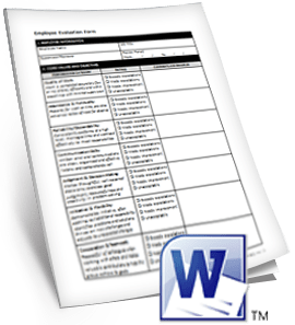 How to Prepare an Employee Evaluation Form