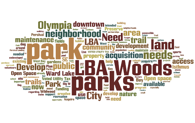 NEIGHBORHOOD MEETINGS TOP 150 WORDS HEARD