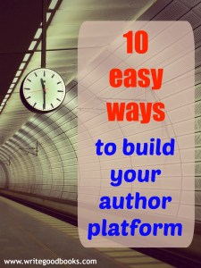 "10 ""Platform Building"" Things You Can Do When You've Caught Writers Block"