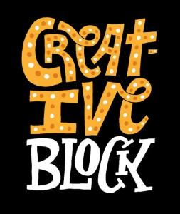I forgot my own rule for beating writer's block. Grrr.