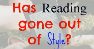 Has reading gone out of style?