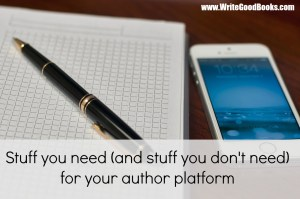 How important is your writing platform to agents? How should you present yourself, as a writer, on your social media sites?