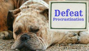 Defeating Procrastination