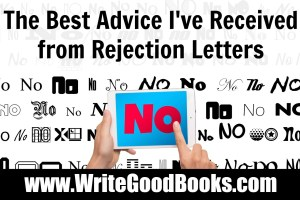 Rejections in writing cannot be avoided. The key is to learn from them. Here are a few things I've learned from nearly two hundred rejection letters.