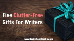 Looking for gift ideas for a writer? Look no further.