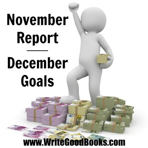 Here are my accomplishments for November and goals for December.