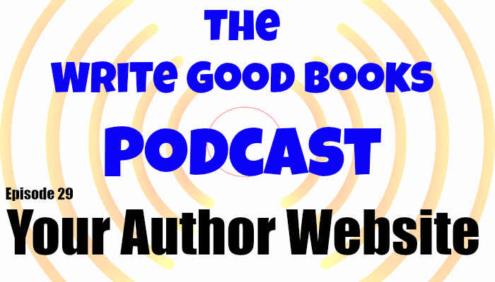 In this episode of The Write Good Books Podcast, Jason and Scott talk about why you need an official author website and discuss the differ types of content you can host there.