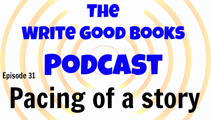 In this episode of The Write Good Books Podcast, Jason and Scott look at pacing in novels and how it can help influence the reader's enjoyment of a story.