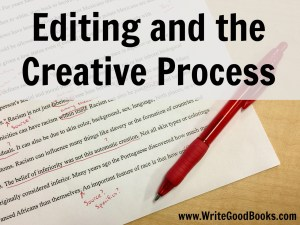 Don't let editing get in the way of finishing your first draft. Your first draft's only purpose is to get finished.