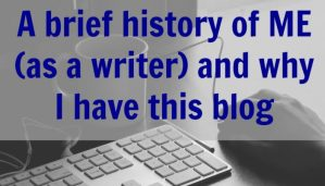 A brief history of ME and why I have this blog