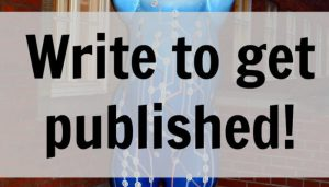 Write to Get Published