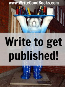Is getting published the goal behind your writing? It should be, and most likely is, whether you know it or not.