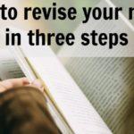 Three steps of novel revision
