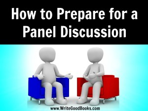 Participating in a panel at a convention is a great way to help market yourself to a new audience. Here are some tips to help make your first panel appearance go smoothly.