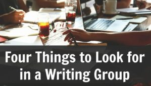 What to look for in a writing group