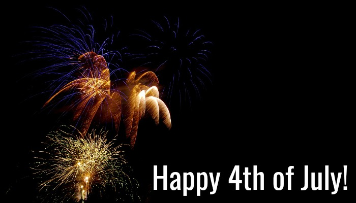Happy Forth of July from all of us at Write Good Books.