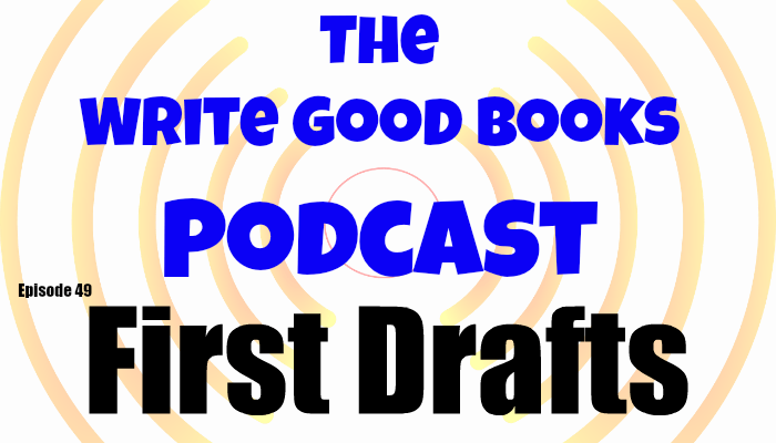 In this episode of The Write Good Books Podcast, Scott and Jason discuss the different methods they use to craft a first draft.