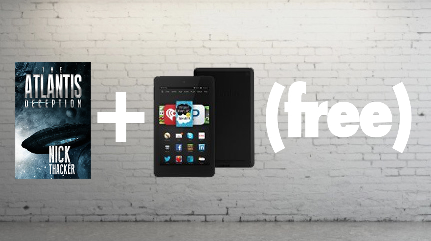 I'm Giving My Book Away… So You Can Win A Kindle Fire HD