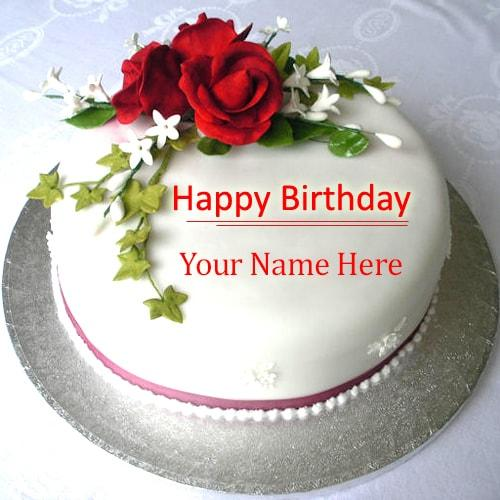 Happy Birthday Cake Name Online