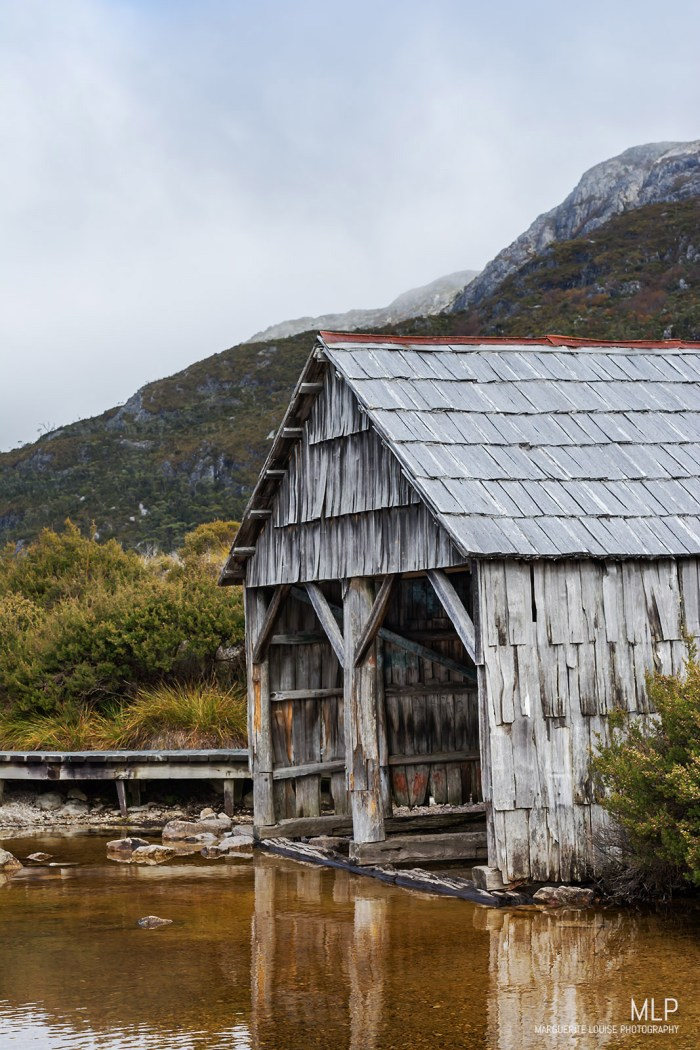 boatshed, dove lake, cradle mountain, tasmania