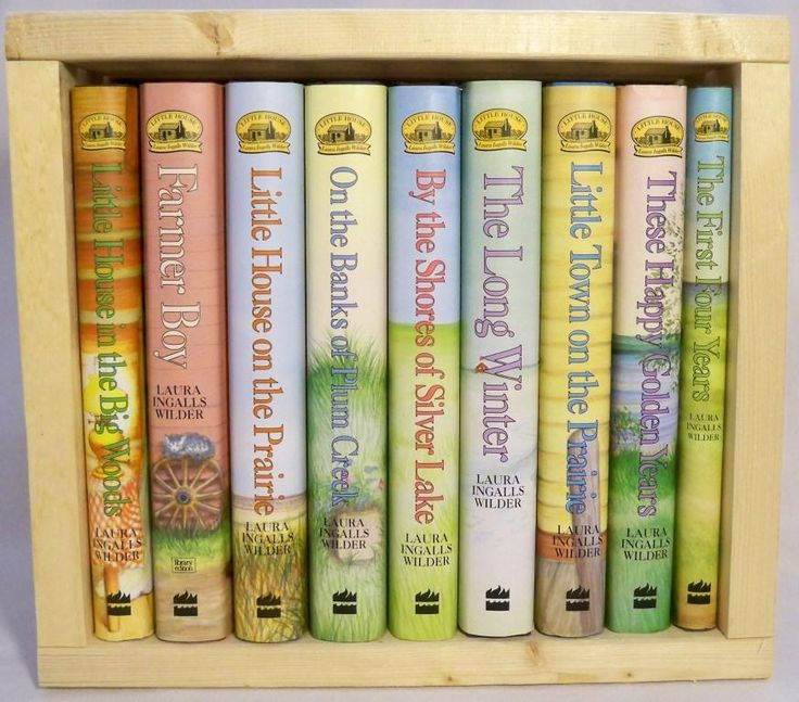 books, box set, little house on the prairie, laura ingalls wilder