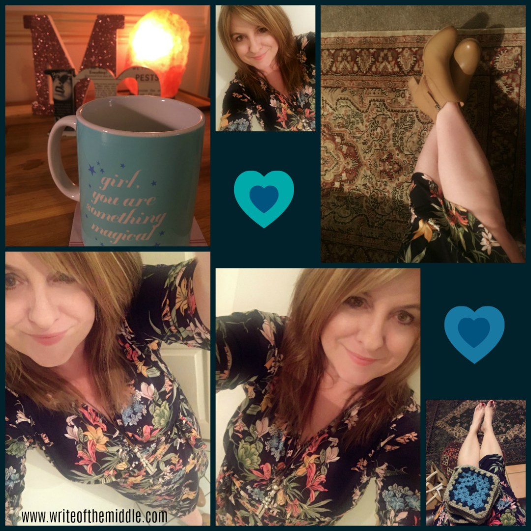 selfies, new dress, dress, crochet, boots, frankie4, birdness,