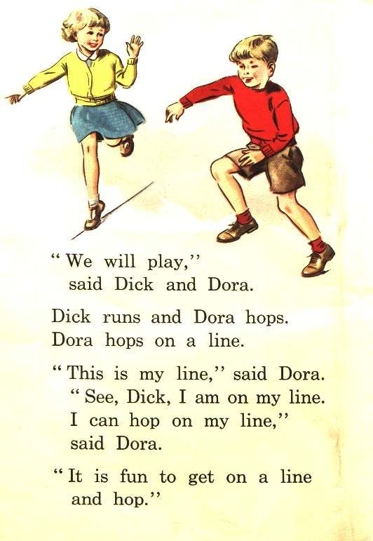 Dick and Dora, Nip and Fluff, Readers, Childhood, Books, School Readers