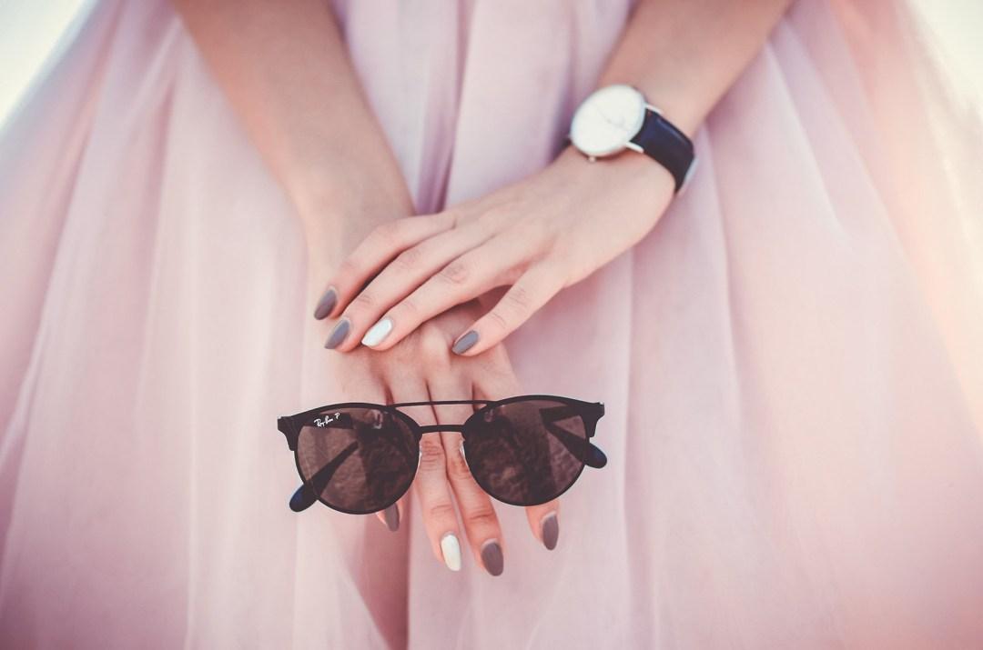 fashion, wardrobe, sunglasses, tulle, pink