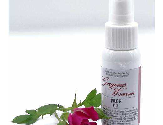 face oil, gorgeous woman face oil, botanical oil, plant based oil, natural skin care, skin care