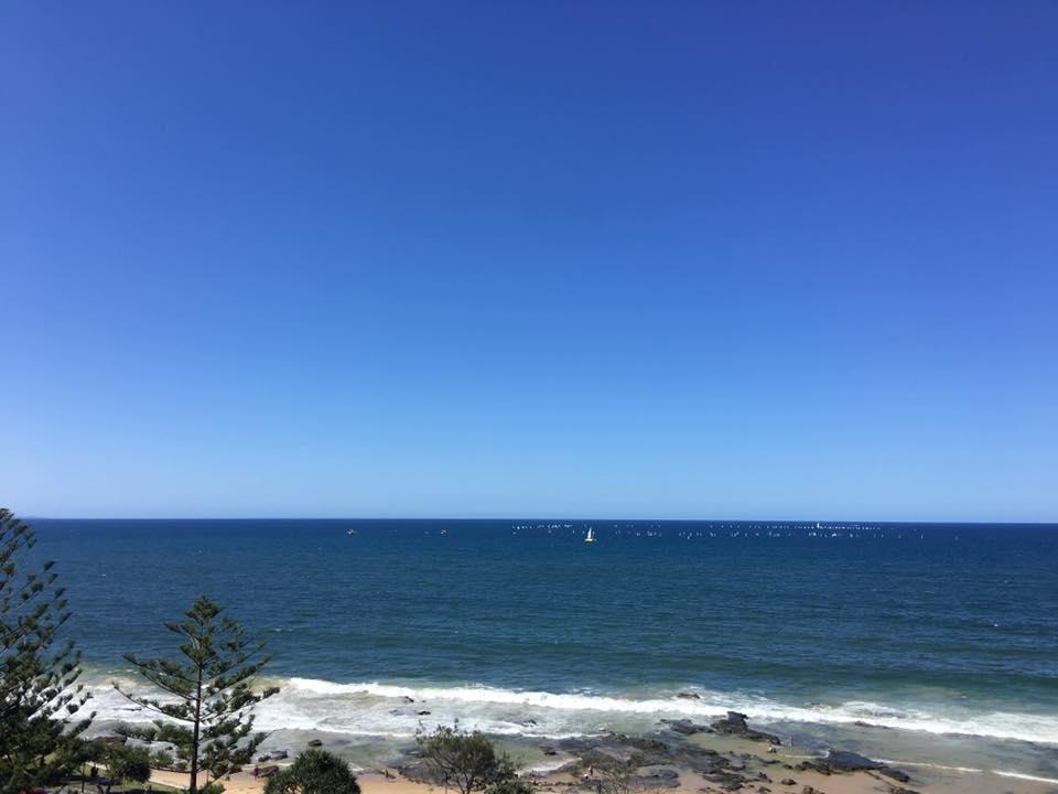view, ocean, ocean view, mooloolaba, beach, surf