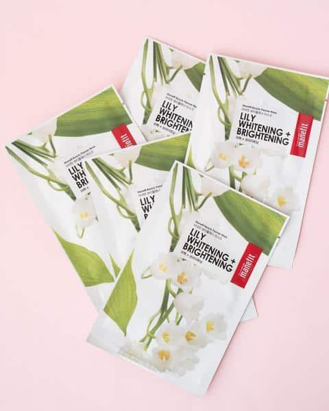 Beauty Planner Lily Sheet Mask Set