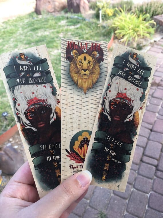 Children of Blood and Bone wooden bookmark