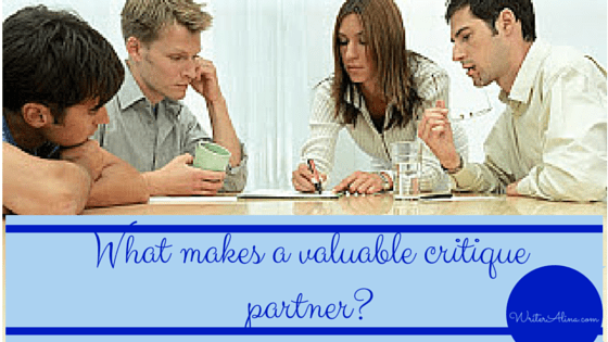 What makes a valuable critique partner?