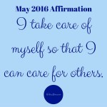 May 2016 Affirmation