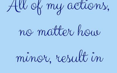July 2016 Affirmation of the Month