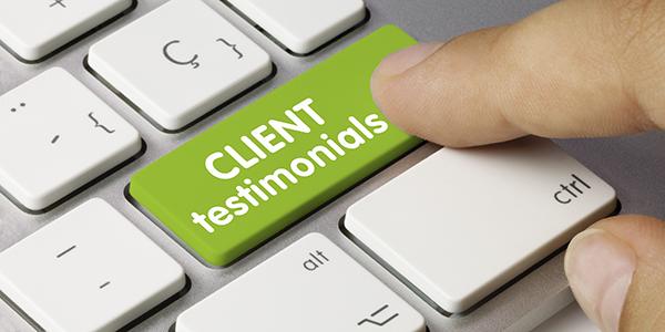 Get referrals and testimonials