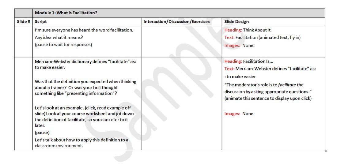 Instructional Design Writerliz Llc