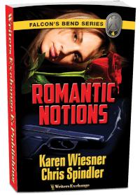Falcon's Bend Series, Book 4: Romantic Notions 3d cover