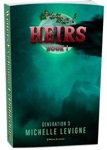 Wildvine Series, Generation 3: Book 1: Heirs 3d cover