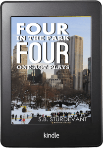 Four in the Park Kindle cover