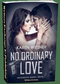 Incognito Series, Book 1: No Ordinary Love 3d cover