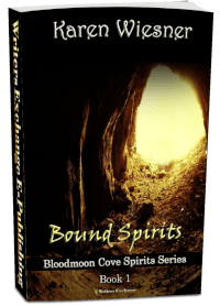 Bloodmoon Cove Spirits Series, Book 1: Bound Spirits 3d cover