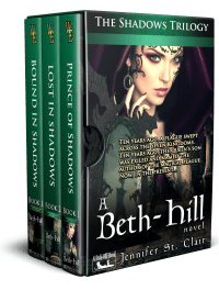 A Beth-Hill Novel, The Shadows Trilogy Boxed Set with no ereader