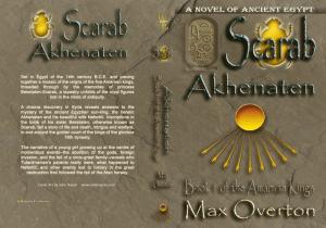The Amarnan Kings, Book 1: Scarab -Akhenaten Print cover