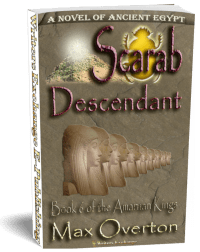 The Amarnan Kings, Book 6: Scarab-Descendant 3d cover