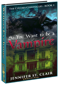 So You Want to be a Vampire 3d cover
