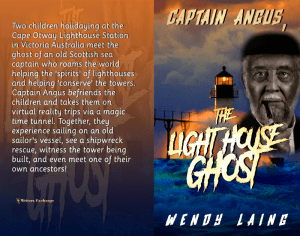Captain Angus, the Lighthouse Ghost print cover