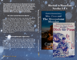 Mischief in Moonstone books 3 and 4 print cover