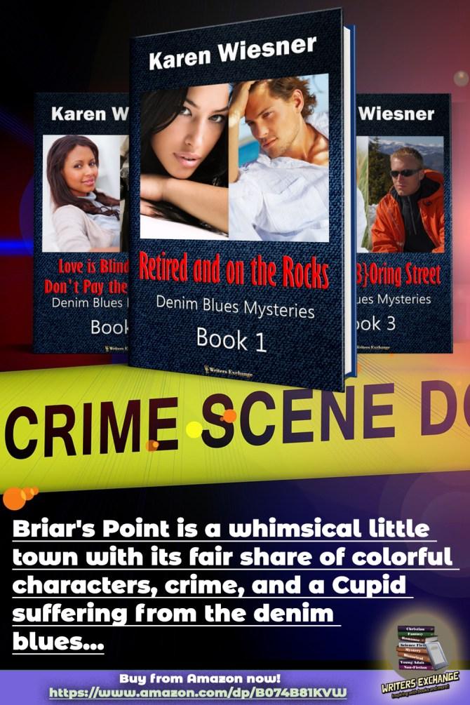 Denim Blues Series Book cover blurb