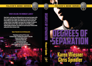 Falcon's Bend Series, Book 1: Degrees of Separation print cover